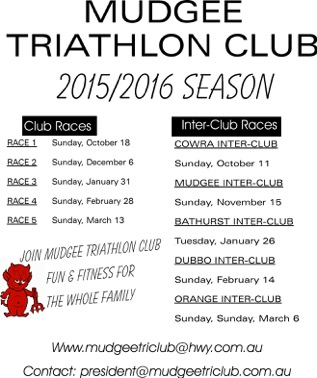flyers for season races