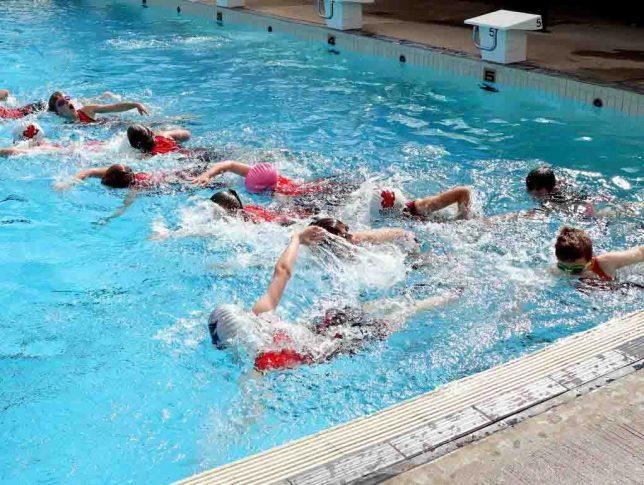 Junior triathlon - swim