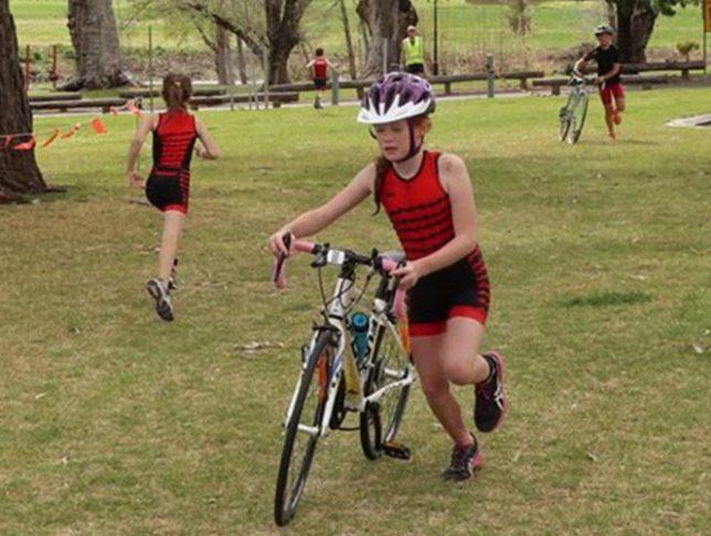 Junior triathlon - bike
