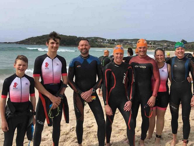 Interclub triathlon series
