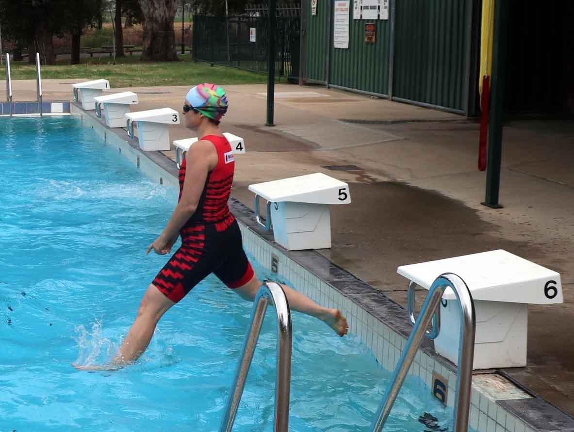 Triathlon Swim Leg