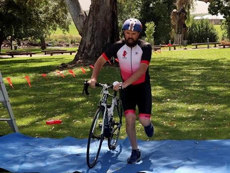 Super sprint triathlon - bike